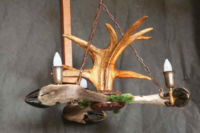 Поделки из рогов оленя
