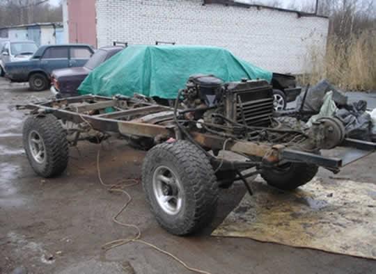Кузов заказали на Базе для УАЗа и приехала оная через месяц из Ульяновска.