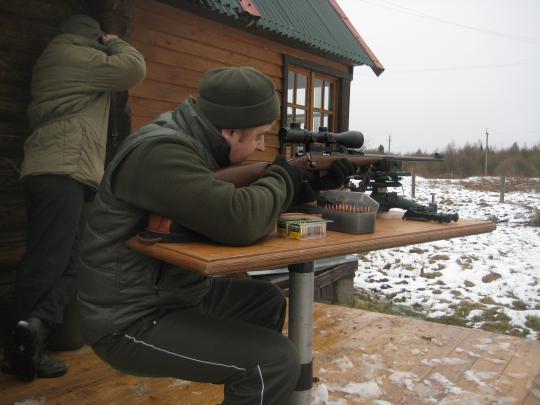 Работает снайперская пара! :)