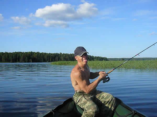 рыбалка в июле в карелии