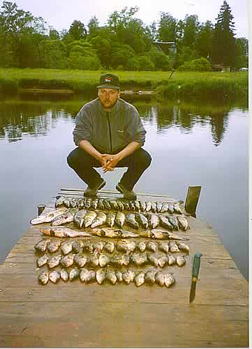 рыбалка на нарвском водохранилище
