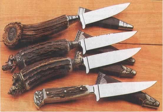Нож охотника своими руками